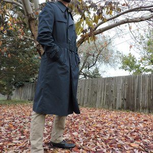 Vintage | LONDON FOG MAINCOATS | L | Lined Trench